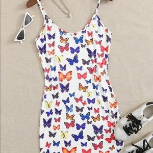 NWT Butterfly Cami Dress